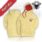 Mafia And Crime Mafia & Crime Girls Hoodie Lang - Yellow