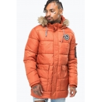 Hype Explorer Puffa Jacket Orange