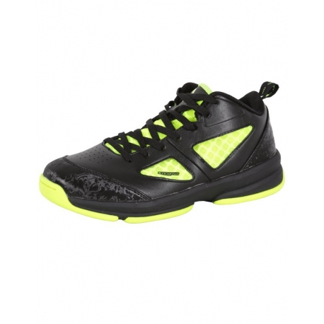 PEAK BASKETBALL SHOES E42070A Black/Fluorescent Yellow (detské)