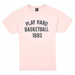 K1X Play Hard Basketball Tee - Blushing bride