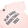 K1X Play Hard Basketball Tee - Blushing bride