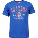 MAJESTIC VARSITY BRIGHTS TEE CHICAGO CUBS