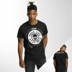 Thug Life Men T-Shirt Barley in black
