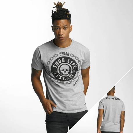 Thug Life Men T-Shirt Barley in grey