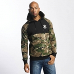 Thug Life Men Hoodie Cloud in camouflage