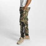 Thug Life Men Sweat Pant Kurgan in camouflage