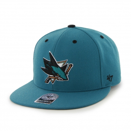 47Brand Official NHL San Jose Sharks Snapback Caps
