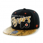 47Brand Official NHL Philadelphia Flyers Snapback Caps