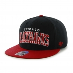 47Brand Official NHL Chicago Blackhawks Snapback Caps