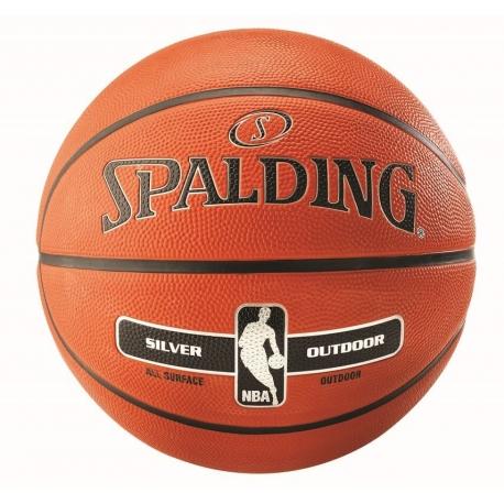 Spalding NBA Silver Outdoor sz.7 Orange