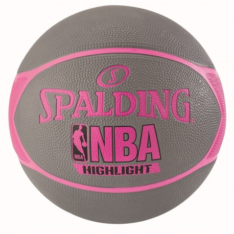 Spalding NBA Highlight 4Her Out sz.6 Grey/Pink