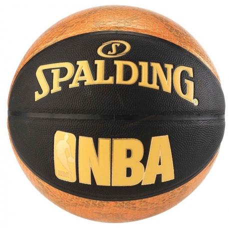 Spalding NBA Snake sz.7 Black/Gold