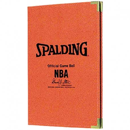 Spalding NBA Schreibmappe A4 Orange