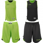 Spalding Doubleface Kids Set - flash green/black