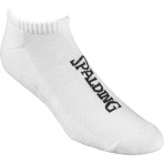 Spalding Socks Low Cut (2 páry v balení) White