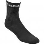 Spalding Socks Mid Cut (3 páry v balení) Black