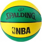 Spalding NBA Miniball sz.1 Green/Yellow