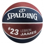 Spalding NBA Player Lebron James sz.7 Navy/Bordeaux