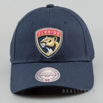 Mitchell & Ness Team Logo Cotton Low Pro Strapback NHL - Florida Panthers Navy