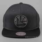 Mitchell & Ness Hologram Mesh Stop On A Dime Snapback NBA - Golden State Warriors Charcoal