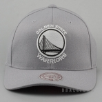 Mitchell & Ness Flexfit 110 Snapback NBA - Golden State Warriors Grey