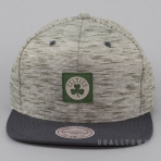 Mitchell & Ness Brushed Melange Snapback NBA - Boston Celtics Grey/Green