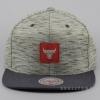 Mitchell & Ness Brushed Melange Snapback NBA - Chicago Bulls Grey/Red