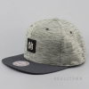 Mitchell & Ness Brushed Melange Snapback Own Brand Grey/Charcoal