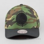 Mitchell & Ness Camo Flexfit 110 Snapback NBA - Golden State Warriors Camo