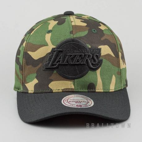 Mitchell & Ness Camo Flexfit 110 Snapback NBA - La Lakers Camo
