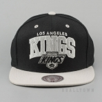 Mitchell & Ness Vintage Team Arch Snapback NHL - La Kings Black/Grey