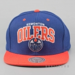 Mitchell & Ness Vintage Team Arch Snapback NHL - Edmonton Oilers Blue/Orange