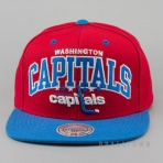Mitchell & Ness Vintage Team Arch Snapback NHL - Washington Capitals Red/Blue