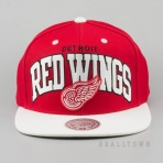 Mitchell & Ness Vintage Team Arch Snapback NHL - Detroit Redwings Red/White