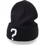 State of WOW QUESTION MARK Beanie Black