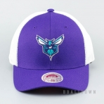 Mitchell & Ness Mesh Flex Trucker NBA - Charlotte Hornets Purple