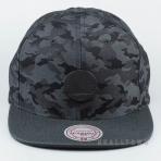 Mitchell & Ness Combat Snapback NBA - Golden State Warriors Black Camo