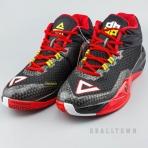 PEAK Basketball Shoes Black/Red (E64003A)