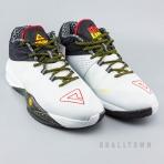 PEAK Basketball Shoes White/Black (E64003A)
