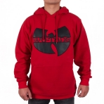 Wu-Tang Classic Logo App Hooded red