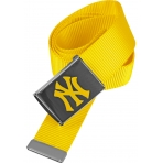 MasterDis MLB NY Yankees Premium Yellow Woven Belt Single