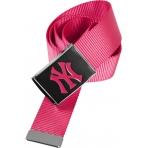 MasterDis MLB NY Yankees Premium Magenta Woven Belt Single
