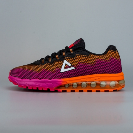 PEAK Running Shoes E62158H Black/Rose
