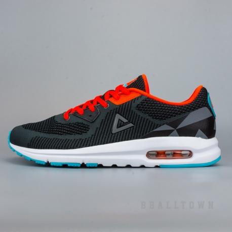 PEAK Casual Shoes E62817E Grey/Fluorescent Orange