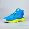 PEAK Basketball Shoes Crystal Blue/Acid Green E54191A