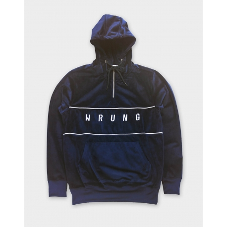 WRUNG PEACH SWEATER NAVY
