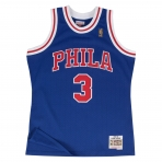 Mitchell & Ness Swingman Jersey - Allen Iverson 1996-97 Nr. 3 Philadelphia 76Ers Red/Royal