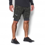 Under Armour Threadborne Novelty Short Downtown Green - Reflective