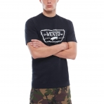 Vans Full Patch Barbed Tshirt Black