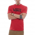 Vans Vans Classic Tshirt Chili Pepper-Black